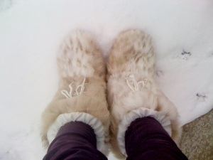 mijn sneeuwbotjes